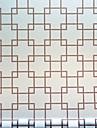 Window Film & Stickers Decoration Chinoiserie Geometric / Print PVC(PolyVinyl Chloride) Window Sticker