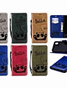 Θήκη Za Apple iPhone XR / iPhone XS Max Novčanik / Utor za kartice / Zaokret Korice Panda Tvrdo PU koža za iPhone XS / iPhone XR / iPhone XS Max