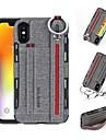 Carcasă Pro Apple iPhone XR / iPhone XS Max Peněženka / Pouzdro na karty / Nárazuvzdorné Zadní kryt Jednobarevné Pevné PU kůže pro iPhone XS / iPhone XR / iPhone XS Max