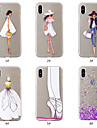Custodia Per Apple iPhone XS / iPhone XS Max Fantasia / disegno Per retro Con cuori / Sexy Morbido TPU per iPhone XS / iPhone XR / iPhone XS Max