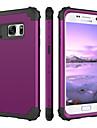 BENTOBEN Etui Til Samsung Galaxy S7 Stødsikker Fuldt etui Ensfarvet Hårdt Silikone / PC for S7