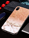 Etui Til Apple iPhone XS / iPhone XS Max IMD / Mønster Bagcover Marmor Blødt TPU for iPhone XS / iPhone XR / iPhone XS Max