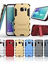Carcasă Pro Samsung Galaxy S7 edge Nárazuvzdorné / se stojánkem Zadní kryt Jednobarevné Pevné PC pro S7 edge