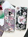 Custodia Per Samsung Galaxy S9 Plus / S9 Effetto ghiaccio / Fantasia / disegno Per retro Fiore decorativo Resistente PC per S9 / S9 Plus / S8 Plus