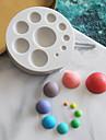 1pc Silicone Adorabile Torta Per utensili da cucina Tonda Stampi per torta Strumenti Bakeware