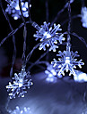 BRELONG Christmas Decoration 10LED Snowflake String Light 1 pc