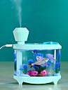 Brelong mini usb purificador de aire ambiente humidificador de luz nocturna ambiente 1 pc