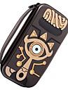 Zelda Slate Pack Kits de malas Para Nintendo Interruptor ,  Portatil / Novo Design / Adoravel Kits de malas PU Leather 1 pcs unidade