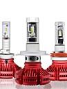 OTOLAMPARA 2pcs H10 / H9 / H7 Car Light Bulbs 100 W High Performance LED 12000 lm 6 LED Headlamp For Volkswagen / Toyota / Honda Civic / Focus / Fiesta 2018 / 2017