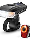 LED Fietsverlichting Oplaadbare fietslampenset Koplamp fiets Achterlicht fiets Bergracen Wielrennen Waterbestendig Draagbaar Snelsluiting Batterij 1000 lm Oplaadbaar Fietsen / veiligheidslichten