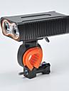 LED Bisiklet Işıkları Bisiklet Ön Işığı Bisiklet Su Geçirmez Portatif 18650 1600 lm 18650 Beyaz Kamp / Yürüyüş / Mağaracılık Bisiklete biniciliği
