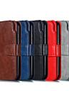 Capinha Para Samsung Galaxy J5 (2016) / J2 PRO 2018 Carteira / Porta-Cartao / Com Suporte Capa Protecao Completa Solido Rigida PU Leather para J7 (2016) / J7 / J5 (2016)