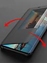 מגן עבור Huawei Huawei Mate 20 Lite / Huawei Mate 20 Pro עם חלון / נפתח-נסגר / שינה / השכמה אוטומטי כיסוי מלא אחיד קשיח עור PU ל Huawei Mate 20 lite / Huawei Mate 20 pro / Huawei Mate 20