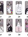 Maska Pentru Huawei P20 / P20 Pro Model Capac Spate Pisica / Hrană / Cuvânt / expresie Moale TPU pentru Huawei Nova 3i / Huawei P20 / Huawei P20 Pro