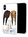 Coque Pour Apple iPhone XR / iPhone XS Max Motif Coque Femme Sexy / Bande dessinee Flexible TPU pour iPhone XS / iPhone XR / iPhone XS Max