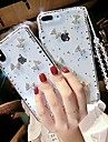 Pouzdro Uyumluluk Apple iPhone XR / iPhone XS Max Taşlı / Şeffaf / Kendin-Yap Arka Kapak Yapay Elmas Yumuşak TPU için iPhone XS / iPhone XR / iPhone XS Max