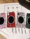 Кейс для Назначение Apple iPhone XR / iPhone XS Max Стразы / Прозрачный / Своими руками Кейс на заднюю панель Стразы Мягкий ТПУ для iPhone XS / iPhone XR / iPhone XS Max
