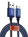 Beleuchtung USB-Kabeladapter Schnelle Aufladung Kabel Fuer iPad / iPhone 150 cm Fuer Nylon / TPE