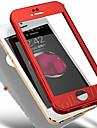 Кейс для Назначение Apple iPhone XS Max / iPhone 6 Защита от удара Чехол Однотонный Твердый ПК для iPhone XS / iPhone XR / iPhone XS Max