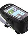 ROSWHEEL Bag Cell Phone / Marsupio triangolare da telaio bici 4.2/5.5/6.2 pollice Schermo touch, Riflessivo, Ompermeabile Ciclismo per Samsung Galaxy S6 / iPhone 5c / iPhone 4/4S Rosso