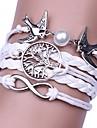 בגדי ריקוד גברים בגדי ריקוד נשים קלוע צמידי גלישה היפ-הופ צמידים תכשיטים לבן עבור מתנה יומי