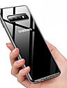 Coque Pour Samsung Galaxy Galaxy S10 / Galaxy S10 Plus Etanche a la Poussiere / Plaque / Transparente Coque Couleur Pleine Flexible TPU pour Galaxy S10 / Galaxy S10 Plus