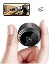 SDETER A9 2 mp IP-kamera Innendoers Brukerstoette 64 GB / Traadloes / Bevegelsessensor / Fjernadgang / Zoom / IR-klip