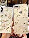 Etui Til Apple iPhone XS Max / iPhone 6 Gjennomsiktig / Moenster Bakdeksel Gjennomsiktig / Blomsternaal i krystall Myk TPU til iPhone XS / iPhone XR / iPhone XS Max